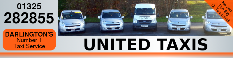 United Taxis header